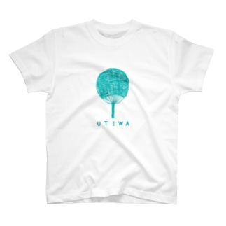 NIKORASU GOのうちわ(水色) T-shirts