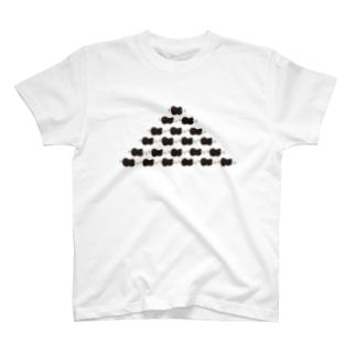 ほねつきにくのヒエラルキー T-shirts
