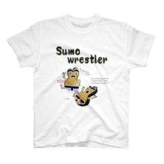 鹿ケ谷かぼちゃ【Sumo wrestler】 T-shirts