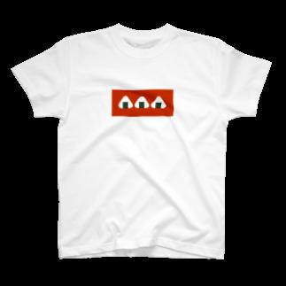 ▷            chiroruのおむすびころりん T-shirts