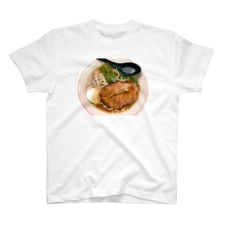 クビラーメンTシャツ T-shirts