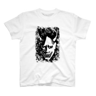 能面・般若 T-shirts