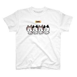 ネコっち分身の術 #まろぽん T-shirts