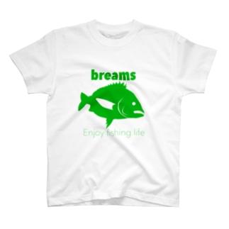 クロダイ(ブリームス) T-shirts