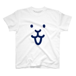 usamiyosioのうさみよしお「ココロに笑顔」 T-shirts
