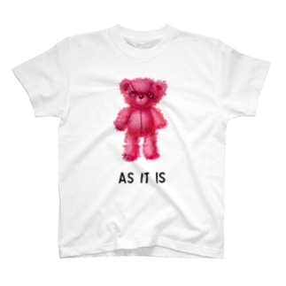 【As it is】(桃くま) T-shirts