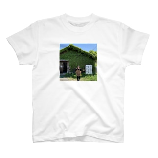私は今高島びれっじ4号館で絞り染体験をしています T-shirts