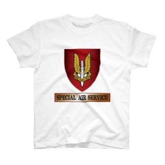 部隊章 SAS T-shirts