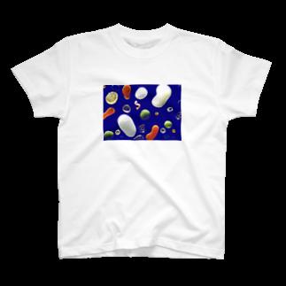 0.5の海 T-shirts