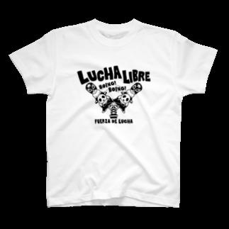 LUCHAのLUCHA LIBRE#30mono T-shirts