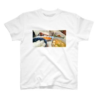 朝ごはん T-shirts