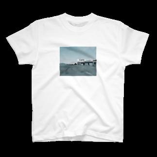 yuassaikoのカフェ T-shirts