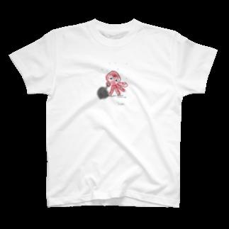 uwotomoの【好かんタコ】 T-shirts
