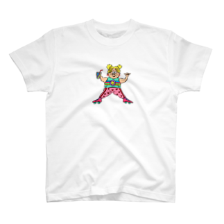 WANPAKU  HOUSEのROLLER SKATES T-shirts