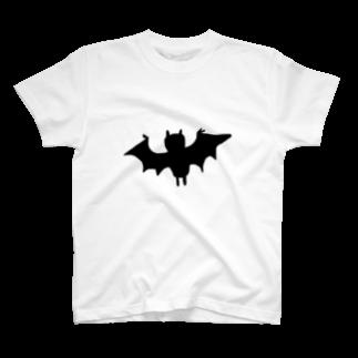 uwotomoのコウモリさん T-shirts