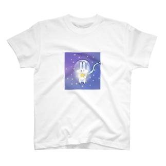 ゆーふぉーうさぎ T-shirts