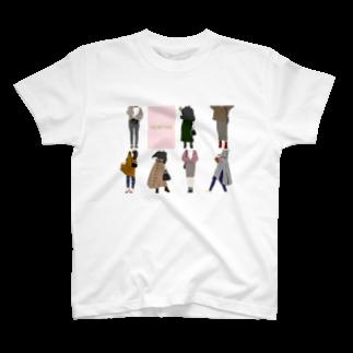 Megumi7のA one week fashion  T-shirts