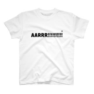 AARRR T-shirts