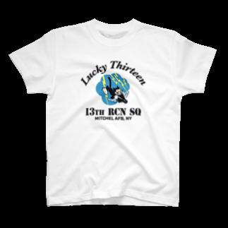 Bunny_Robber_GRPCの13th RCN SQ_BLK T-shirts