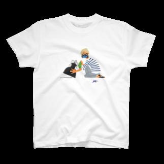 THE GANYUのライプツィヒの照明屋さん T-shirts