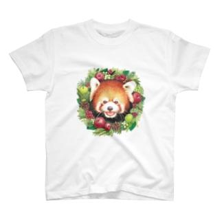 レッサーパンダB T-shirts