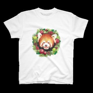 rokoのレッサーパンダB T-shirts