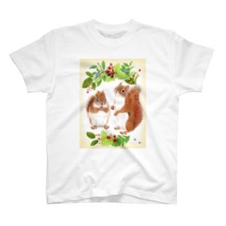 アメリカアカリス T-shirts