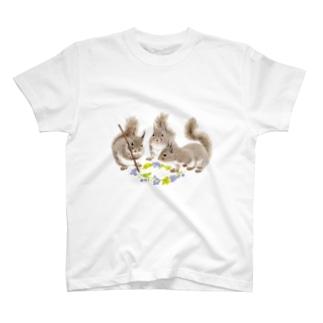 ニホンリス T-shirts
