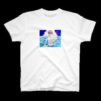 shiroikirin_のふたりなら T-shirts