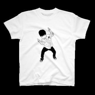 Eatn-kkのカニフォーマルken  T-shirts