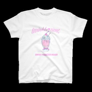 ichigotomahouのtwinkle♡time Tシャツ T-shirts