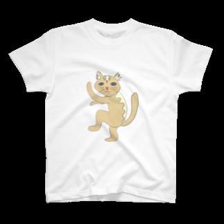 hiroronikiのダンシング猫 T-shirts