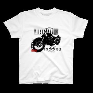 VIISITTELUのVIISITTELU rideも T-shirts