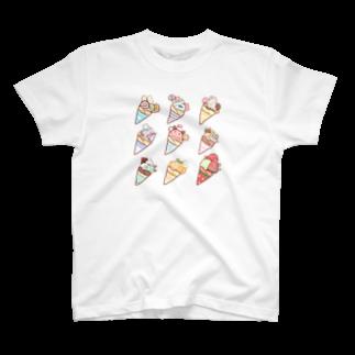 ちとせあめの夏のクレープ T-shirts