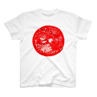 日の丸JAPAN T-shirts