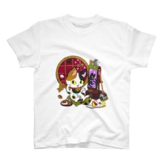 猫神様 T-shirts