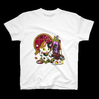 つねやの猫神様 T-shirts
