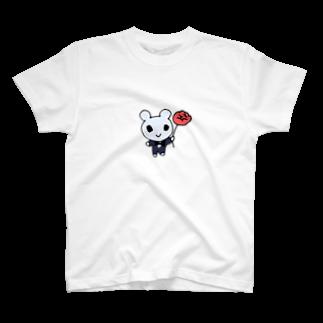 ねこりんストアのブラックタイマウス T-shirts
