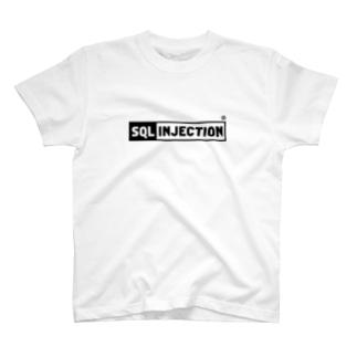 WEBPLAのSQL INJECTION T-shirts