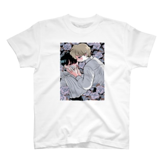 薔薇の花 T-Shirt