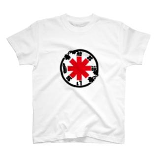 パ紋No.3379 藤井 T-shirts