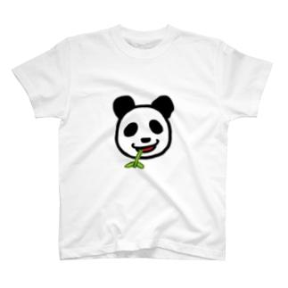 笹が美味いパンダ T-shirts