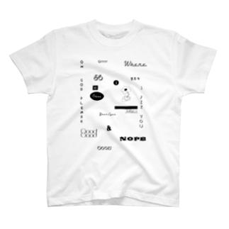 パワコラハピネス T-shirts