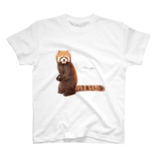 レッサーパンダC T-shirts