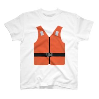 ライフジャケット風 T-shirts