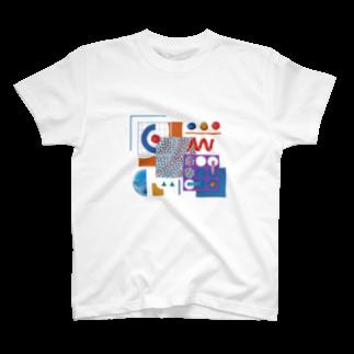 のんたんのお店のrainbow T-shirts