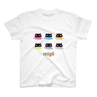 migii 6color T-shirts