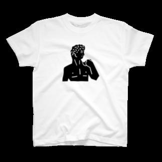 ColliuのDAVID T-shirts