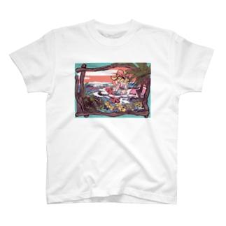 なみぎわのシャツ T-shirts