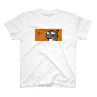 「テヘペロ☆」 #シャチくん T-shirts